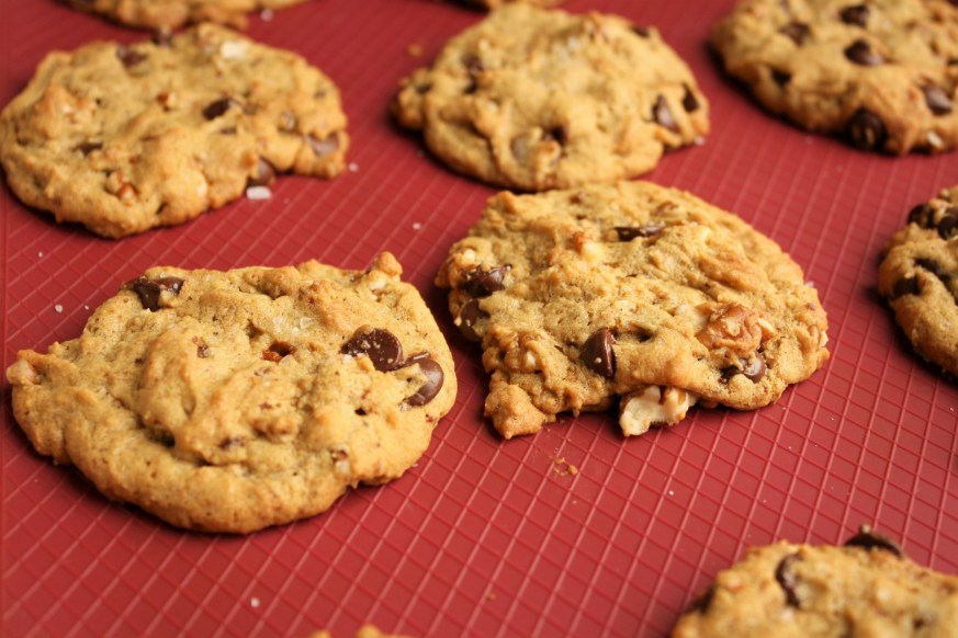 Vegan Cookies right out of the oven
