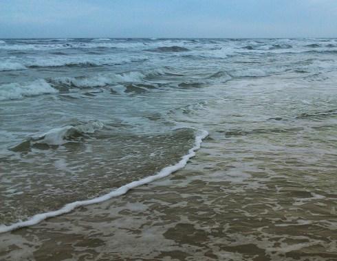 Mustang Island, Texas, beach