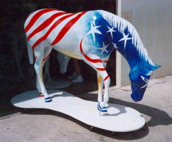 "Del Mar Yearling ""Patriot"" by Lucinda Hayes"