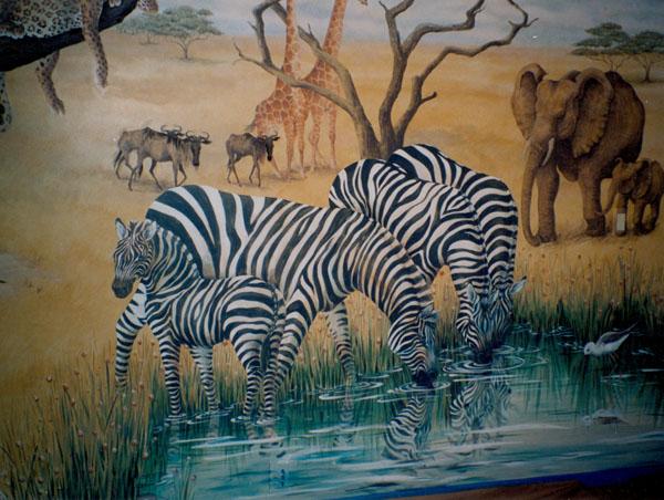 Serengeti Zebras by Lucinda Hayes