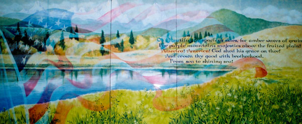 America the Beautiful by Lucinda Hayes