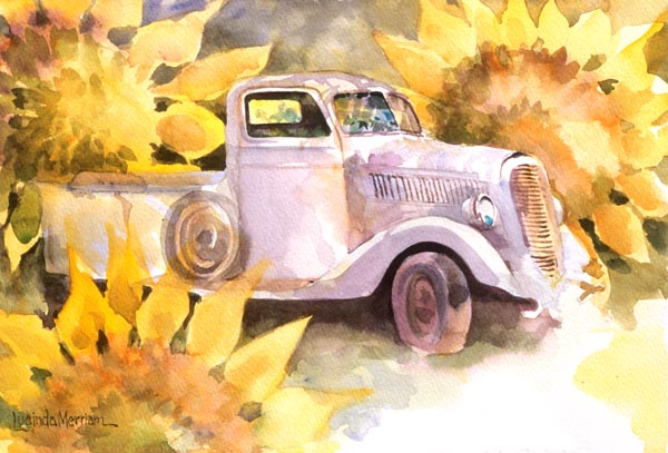 Truck by Lucinda Hayes