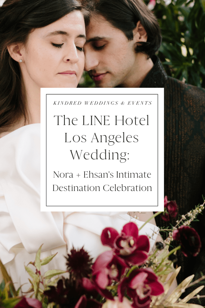 The LINE Hotel Los Angeles Wedding