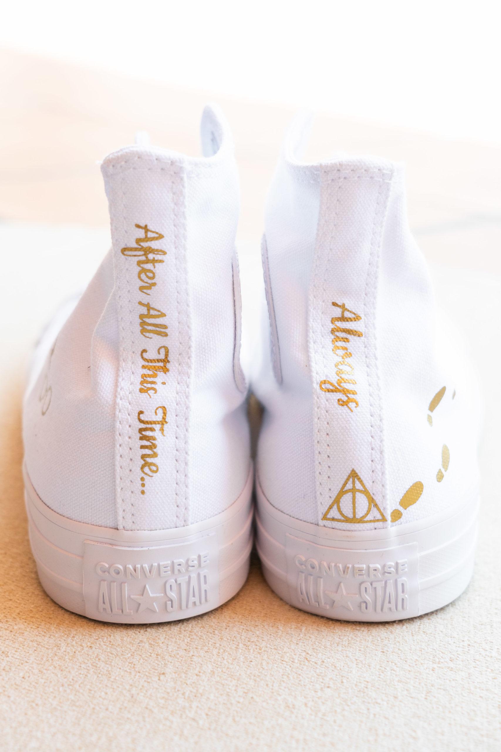 Bride Customized Harry Potter Converse