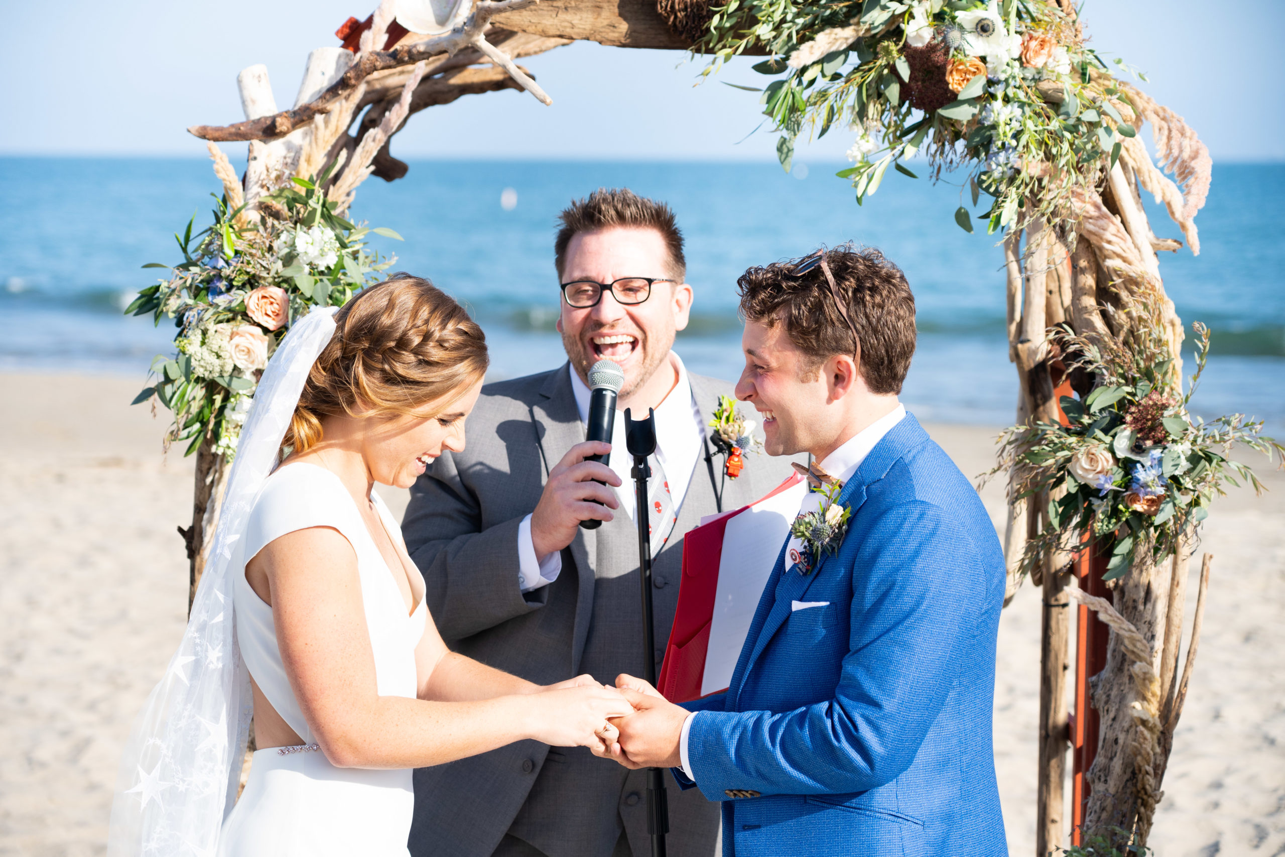Beach Wedding at Hilton Santa Barbara