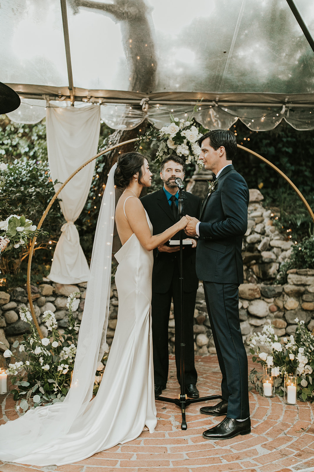 wedding ceremony at Inn of the Seventh Ray