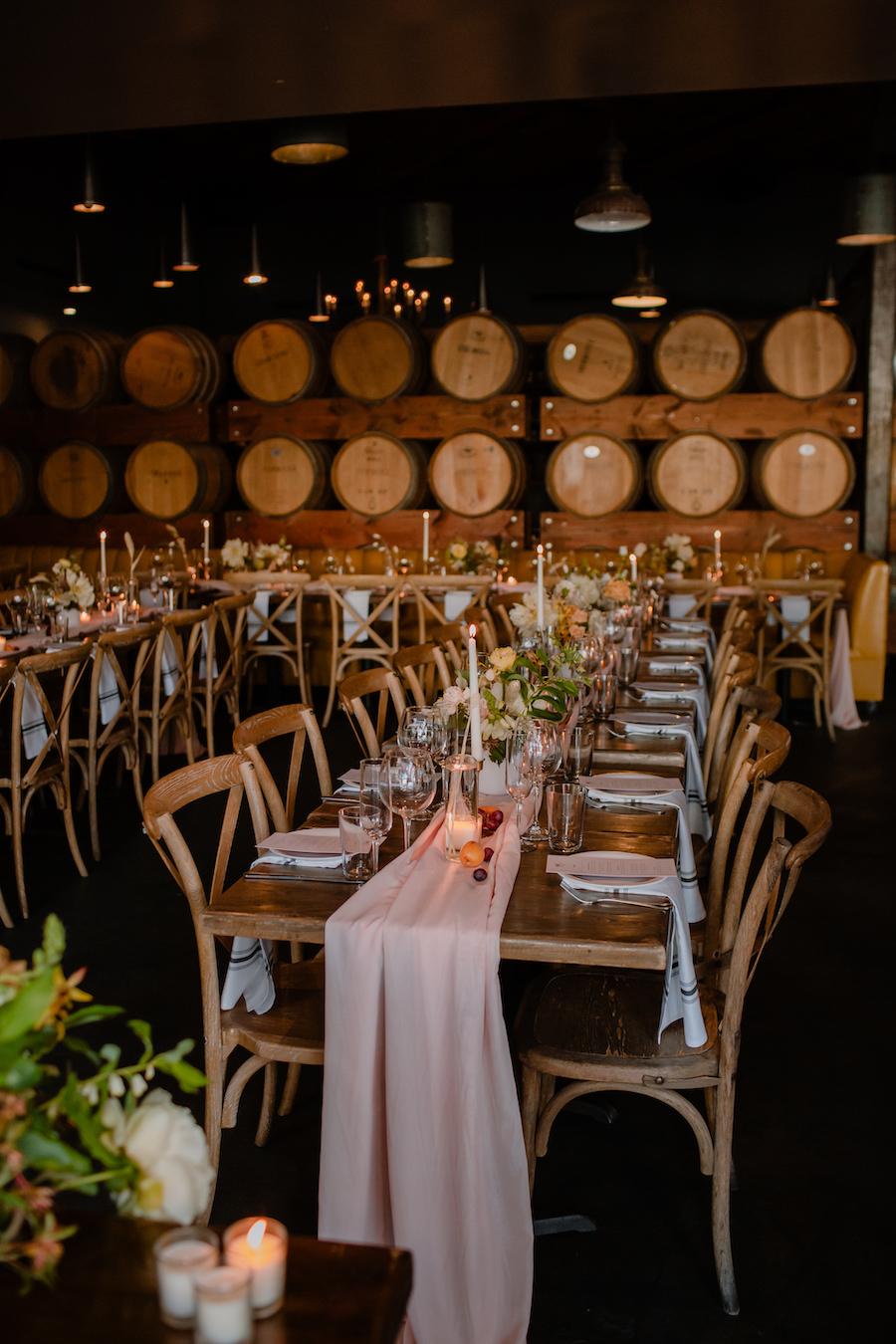 Wedding dinner at Madera Kitchen
