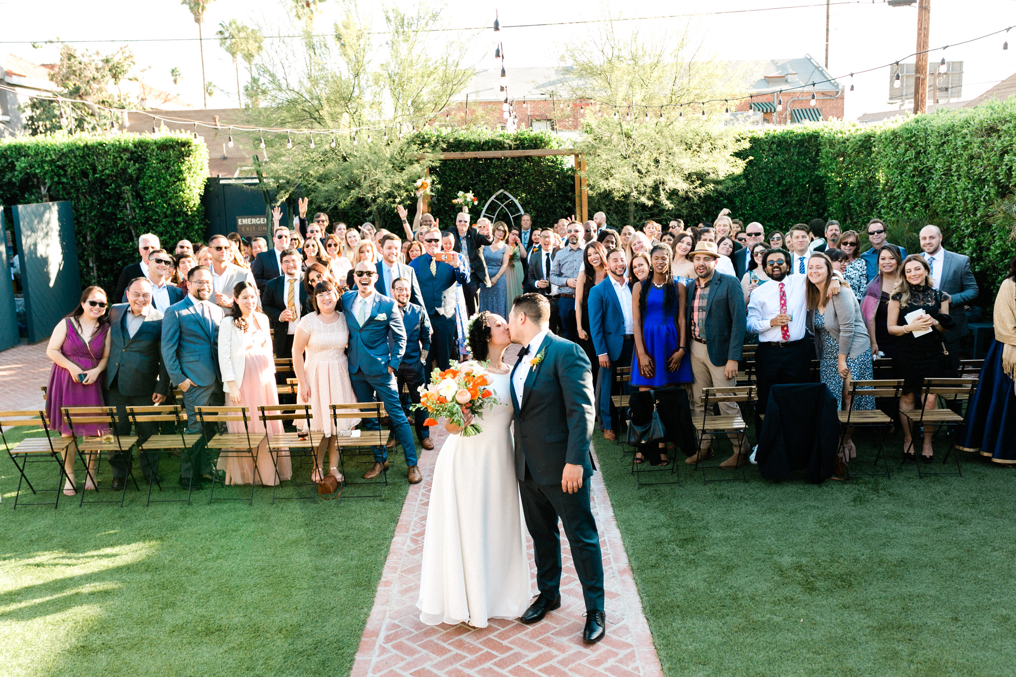 The Ruby Street outdoor ceremony