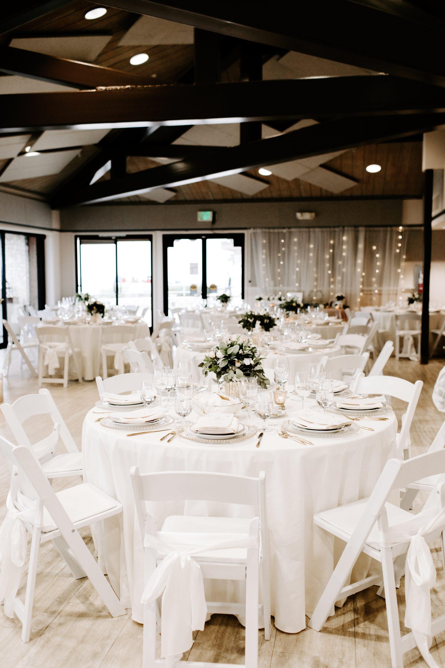 Indoor Wedding Reception Palos Verdes
