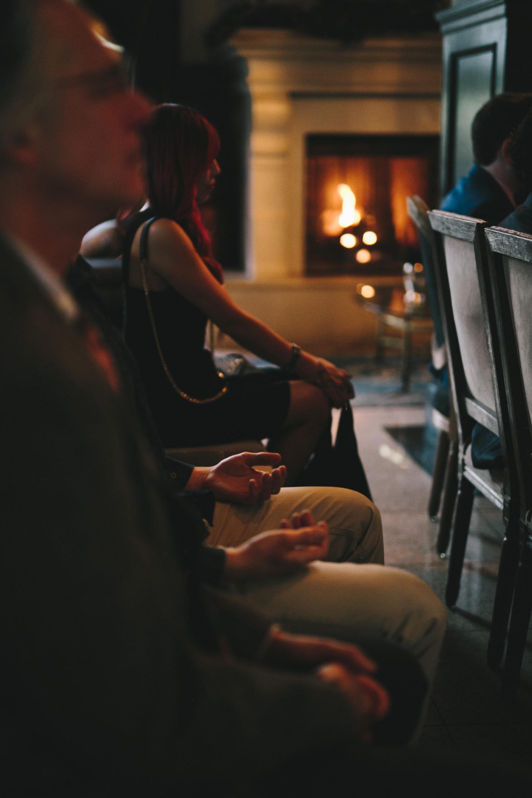 Intimate wedding at Culver Hotel