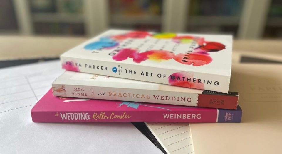 3 of the best wedding planning books for couples to read