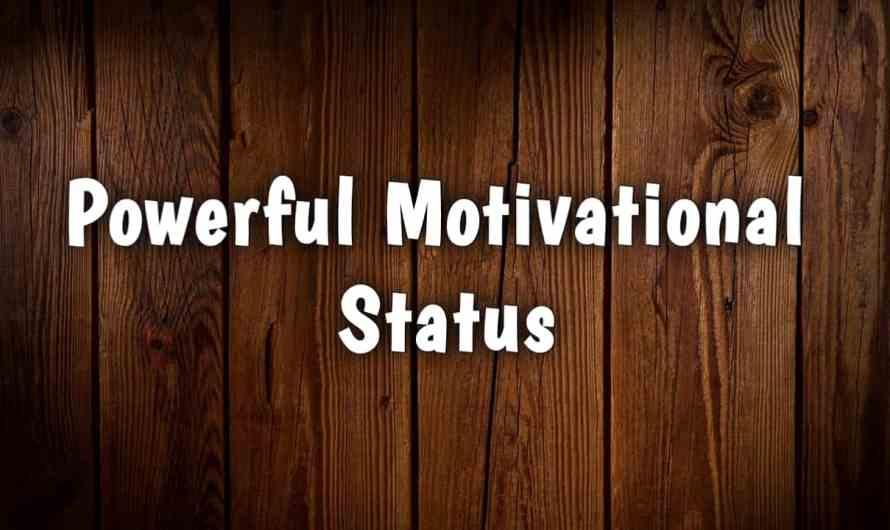 Killer Motivational Status in Hindi | Motivational Whatsapp Status in Hindi