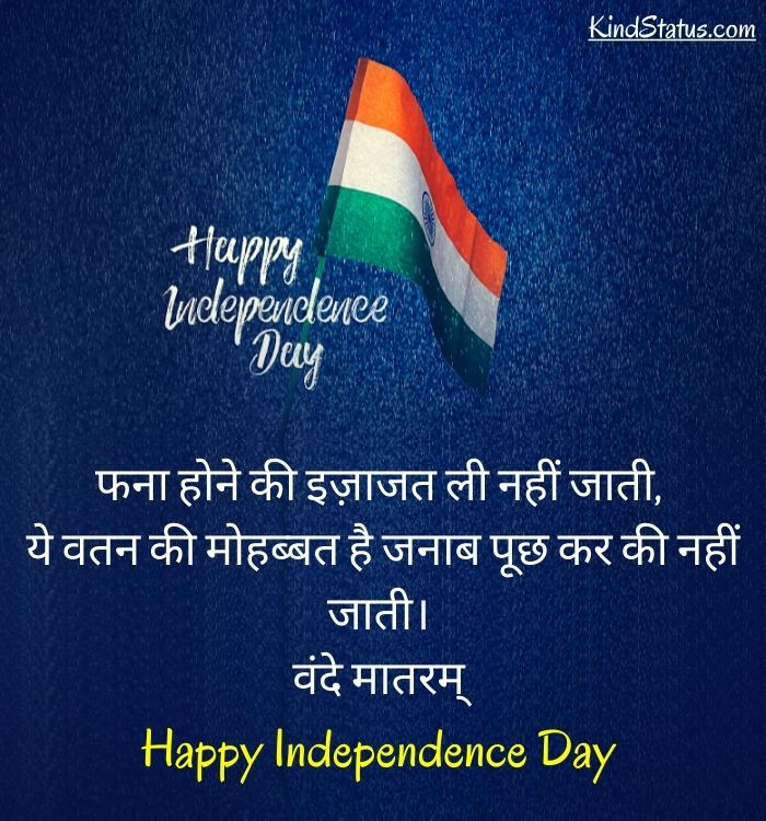 hindi quotes on independence day