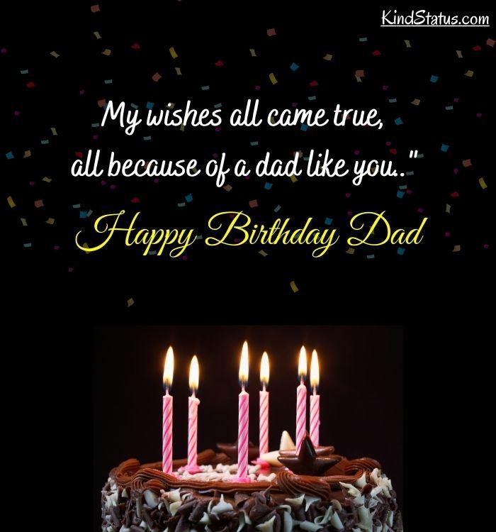 birthday for dad