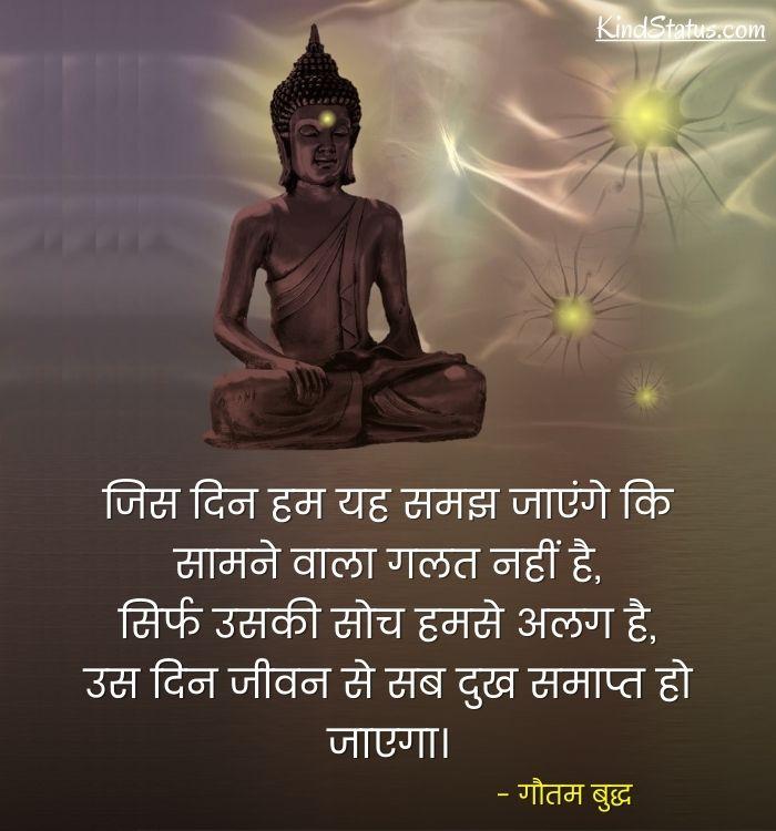 gautam buddha thoughts in hindi