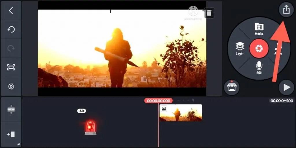 How to export video (4K Rendring)