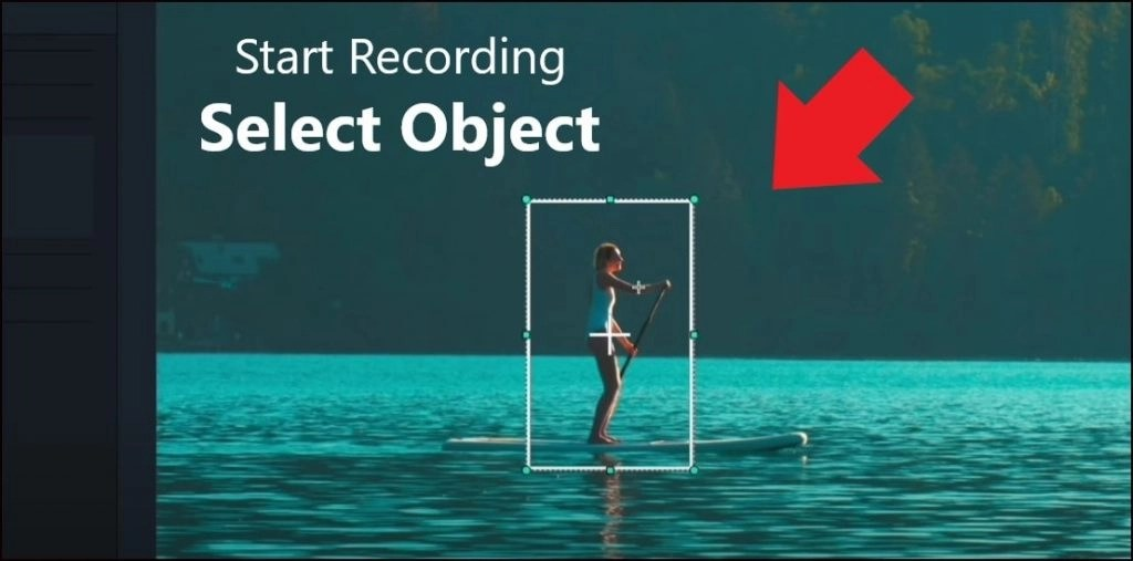 How to Track object with text