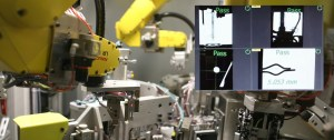 fanuc vision guided robotic assembly of military munitions ,laser marking, traceability, cognex vision inspection