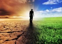 A Climate Change Concept Image
