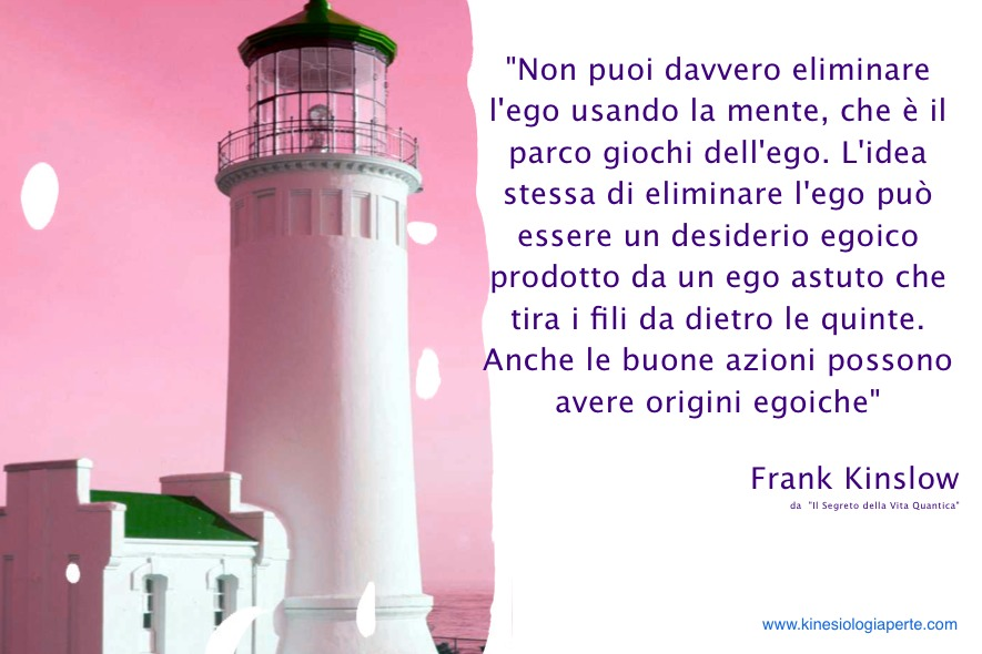 Una delle tante interpretazioni dell'ego: Frank Kinslow