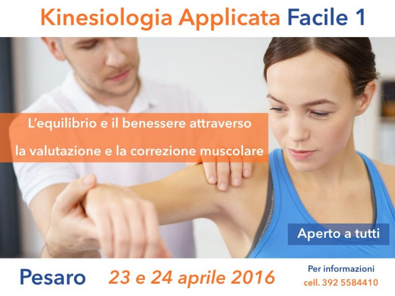 Kinesiologia Applicata Facile