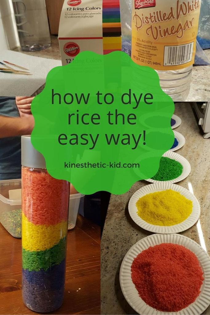 How to Dye Rice the Easy Way. You'll have colored rainbow rice in no time after following these 6 easy steps.