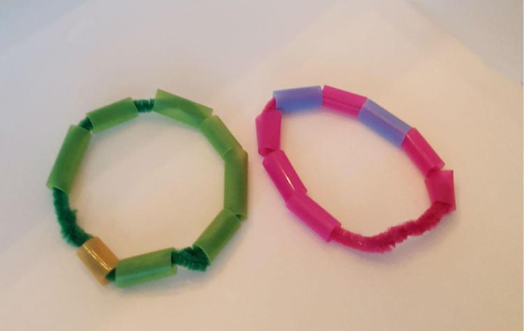 pipe cleaner fine motor activity for toddlers 2