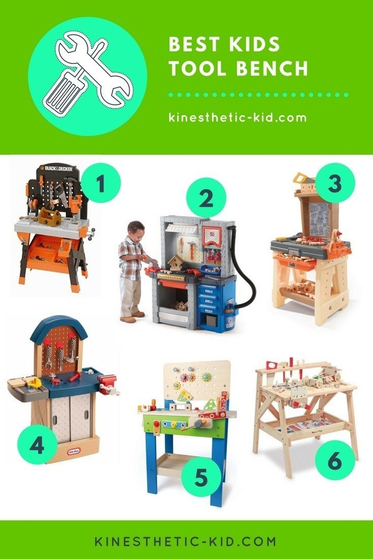 Best Kids Tool Bench 2018 Reviews Kinesthetic Kid Com