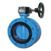 Jual Double Flanged Butterfly Valve - GALA 2102