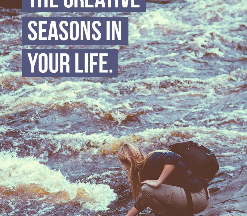 Embrace creative seasons in your life for great progress.
