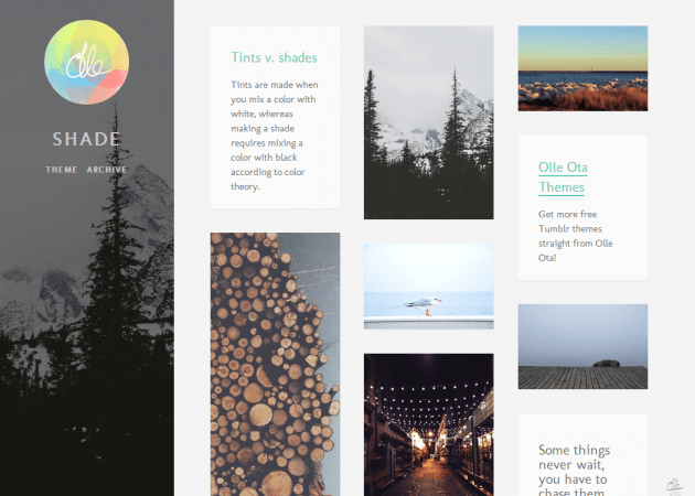 Free tumblr themes i love july 2014 kinetic bear free tumblr theme that is great for photographers pronofoot35fo Gallery