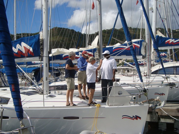 Checklist for Bareboat Charter Checkout