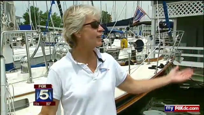 Sail Solomons on Fox 5 News