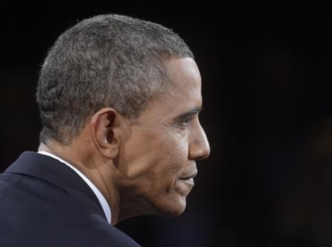 President Obama during the final U.S. presidential debate