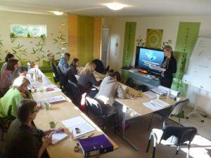 TEK 1 csoport tanulás közben