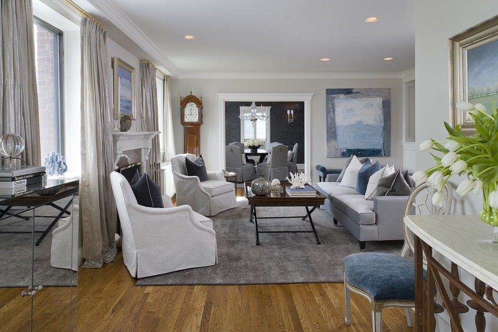 kinfolk&soul transitional eggshell-vs-satin-for-a-transitional-living-room-with-a-moulding-and-greenwich-penthouse-by-tiffany-eastman-interiors-llc