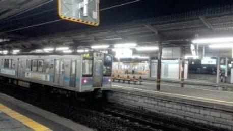 塩尻駅ホーム