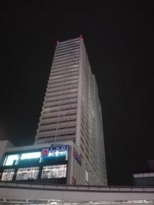 立川駅横のタワーマンション