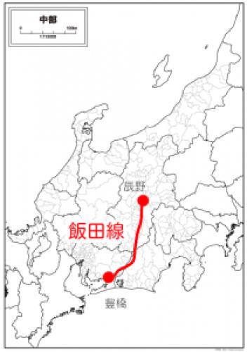 飯田線概略図