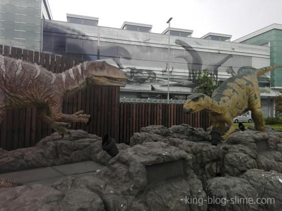 福井駅の恐竜①