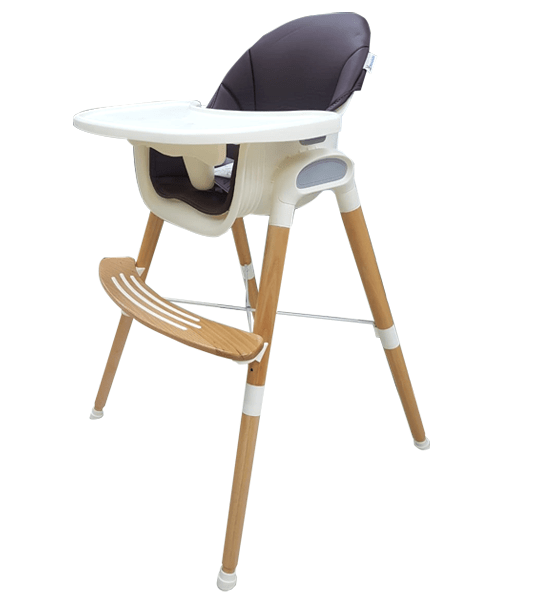 chaise haute en bois mon bebe