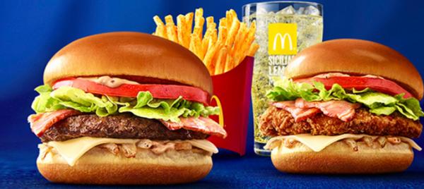 クラブハウスバーガー ビーフ クラブハウスバーガー チキン シャカシャカポテト クアトロチーズ マックフィズ シチリアレモン(果汁2%) マックフロート シチリアレモン(果汁2%) キャンペーン McDonald s