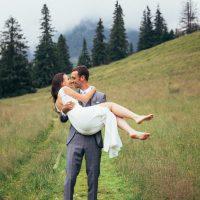 Plener ślubny w Tatrach - Kasia i Miko