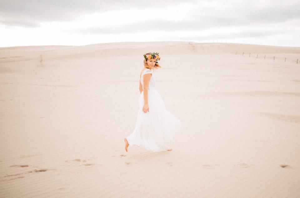 Plener ślubny na wydmach | Nat i Ed