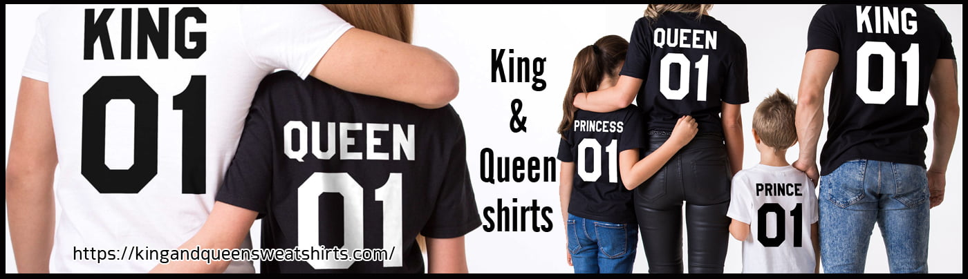 banner king and queen Shirts