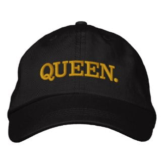 queen womens hat