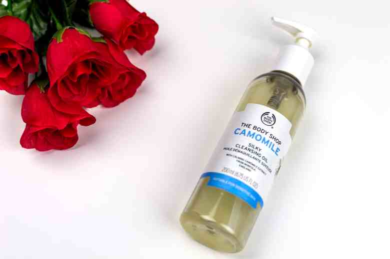 the body shop camomile cleanser