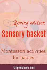 sensory basket pin