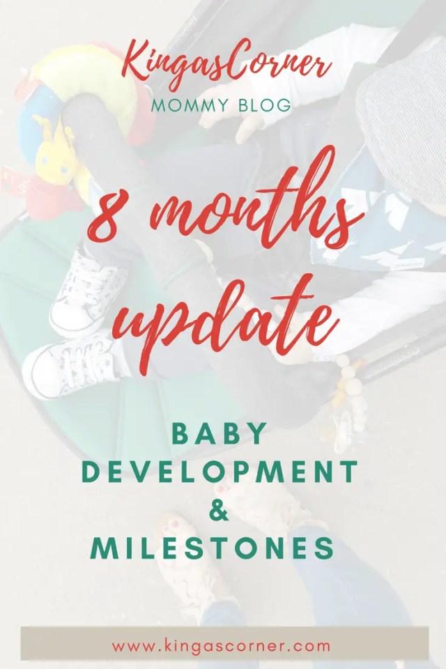baby development 8 month baby update