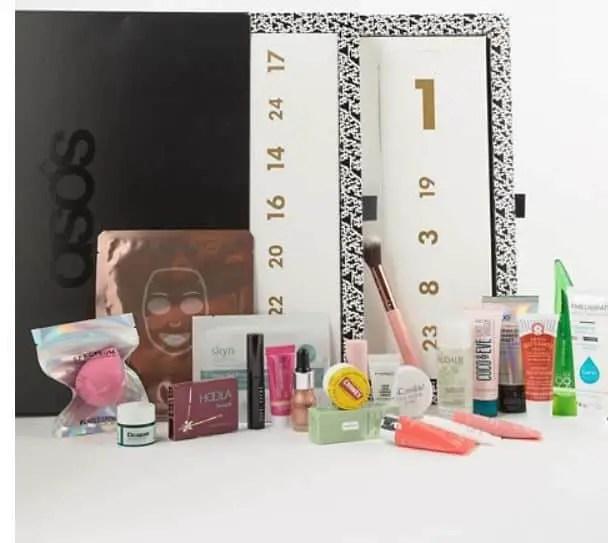 asos beauty advent calendar 2018